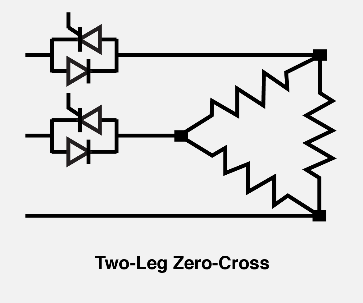 Two Leg Zero Cross Control Mode