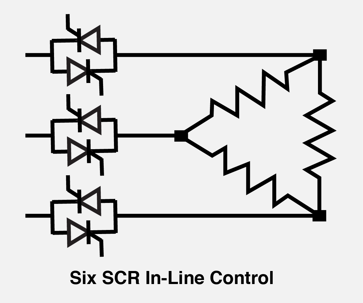 Load Configurations Control Concepts Inc Scr Circuits Applications Six In Line Mode