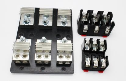 Class T Fuseblocks (600 VAC | 3 Pole | Touchsafe Capable) for Power Controllers